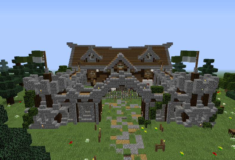 Magic Nordic Barracks - GrabCraft - Your number one source for MineCraft…