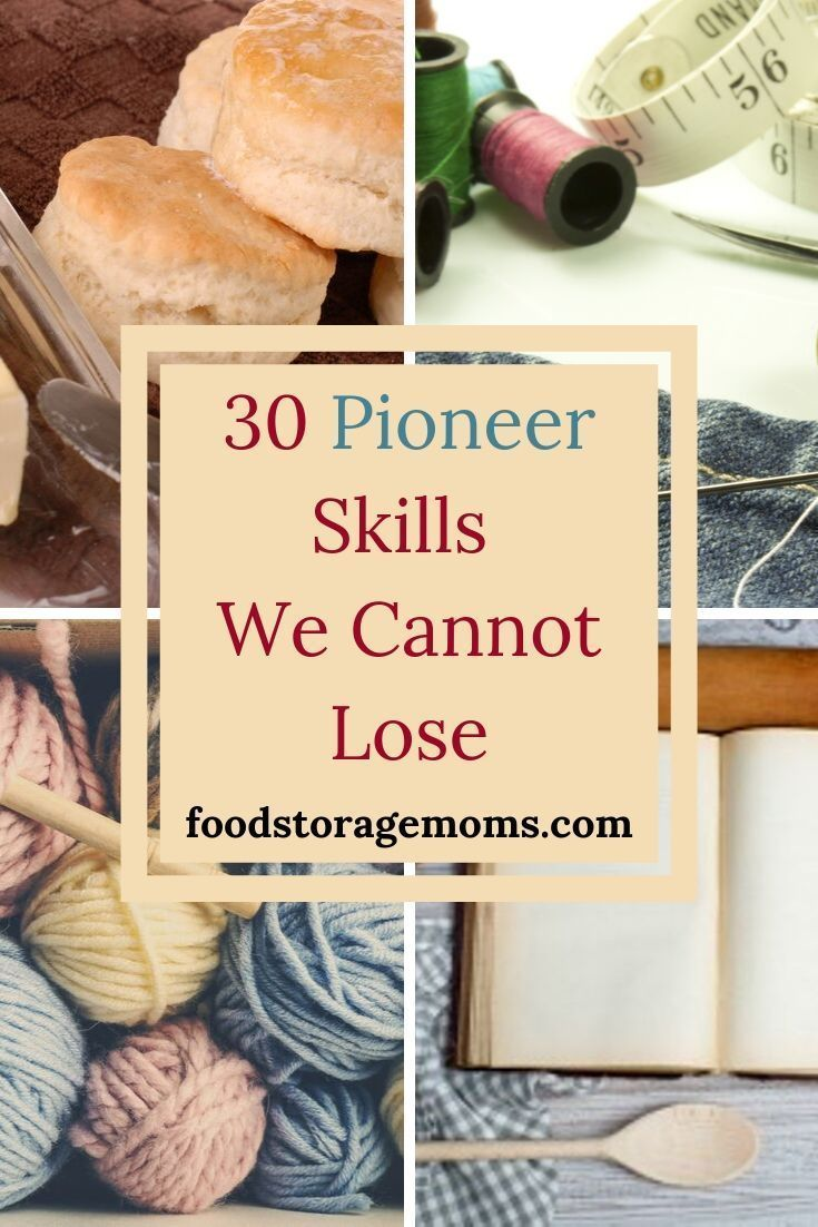 There are 30 pioneer skills we cannot lose at the very minimum I want to address today. Here's the deal, I grew up sewing my own clothes, making bread, canning food, and gardening. #hurricanefoodideas