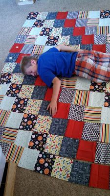 Young boy makes his own quilt - Quilt Taffy: Patience is Not my ... : quilt taffy - Adamdwight.com