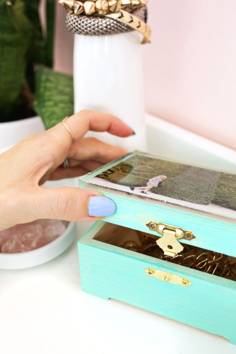 DIY jewelry box plans ideas and makeover