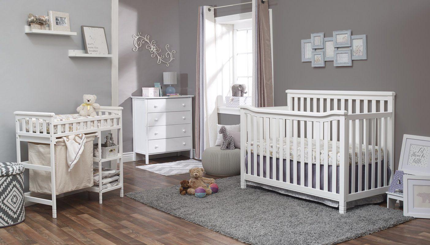 palisades 4 in 1 convertible 3 piece crib set baby crib sets rh pinterest com
