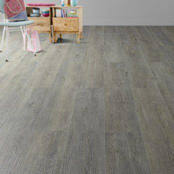 lame pvc clipsable gris effet bois pécan camden artens | leroy