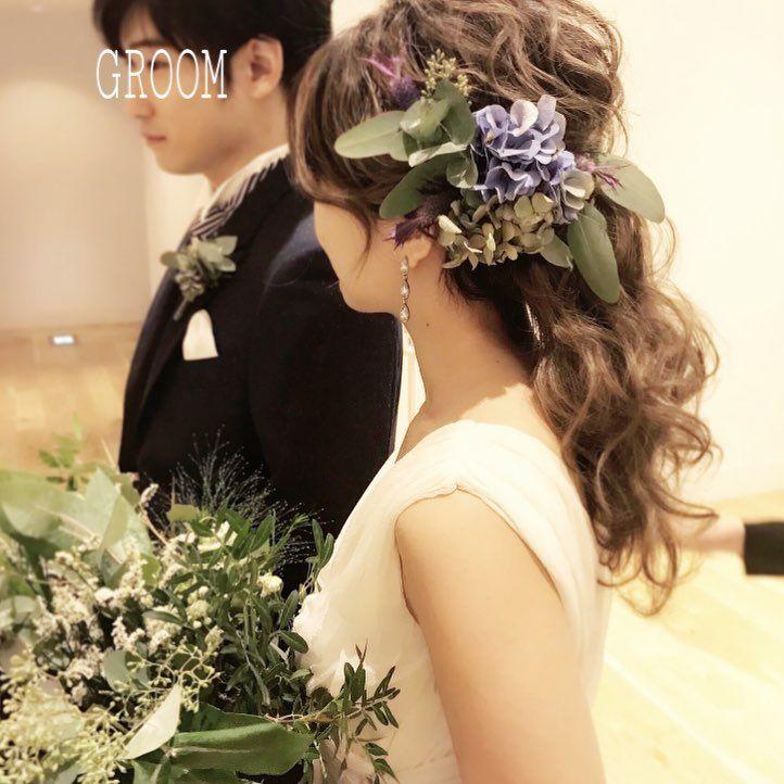 ヘアチェンジ Wedding Hairstyles ウェディング ヘアスタイル