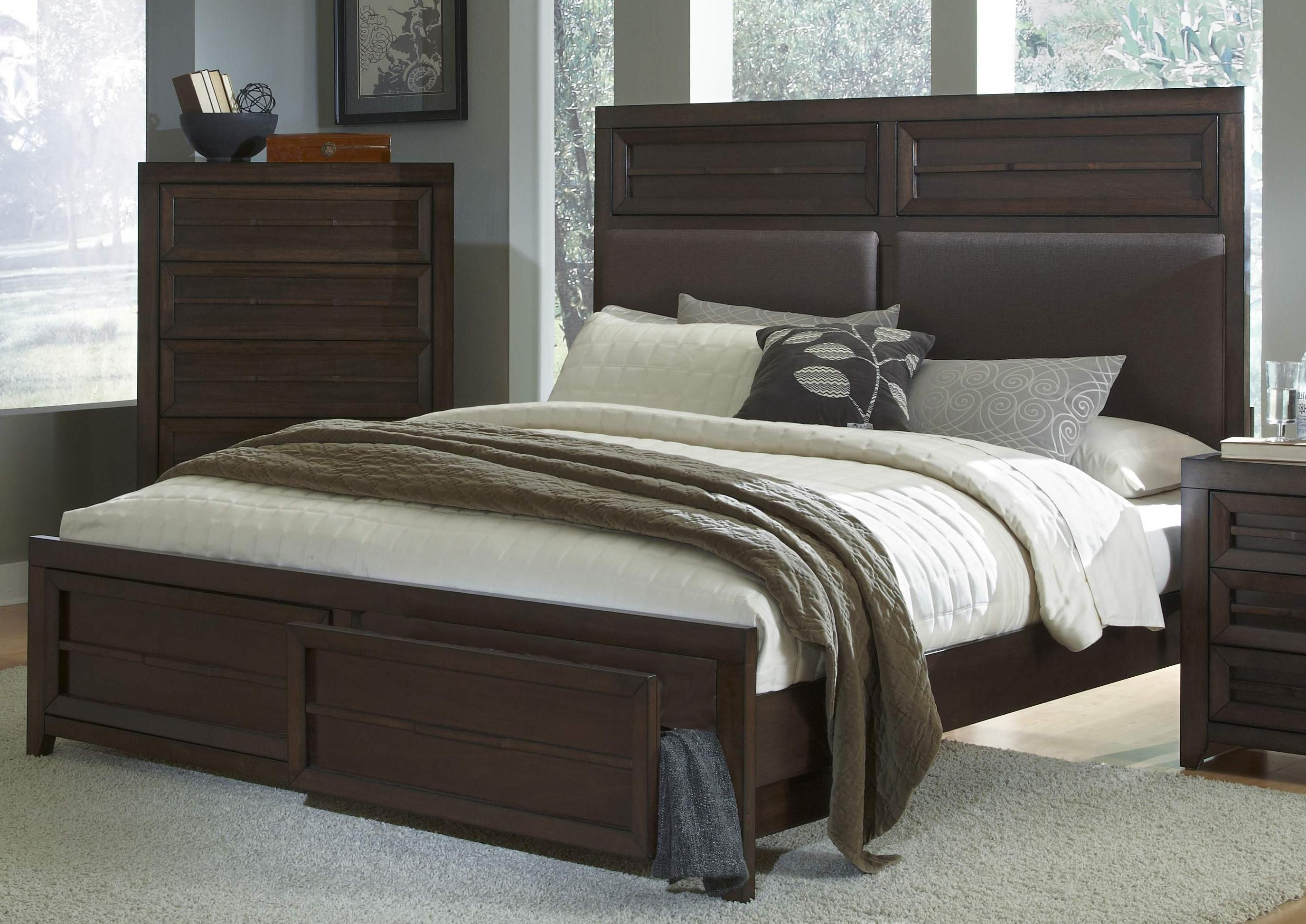 austin king upholstered storage bed by bk home home house bed rh pinterest com