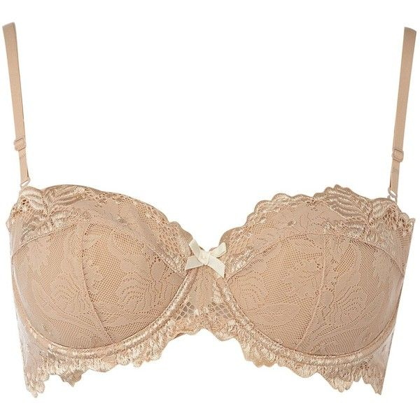 d6b88b03dac Elle Macpherson Intimates Spree American Nude multiway  strapless bra (81  CAD) ❤ liked on Polyvore featuring intimates