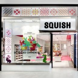 Boutique Squish Fgmda Chocolate Store Design Candy Store Design Store Design Interior