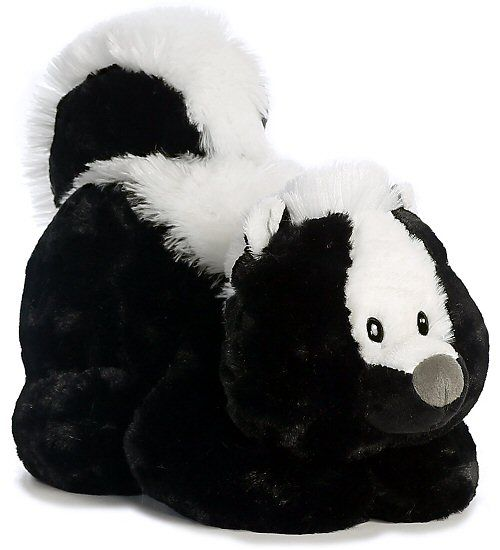 Stinky Skunk Tushies Stuffed Animal by Aurora World (Right View)