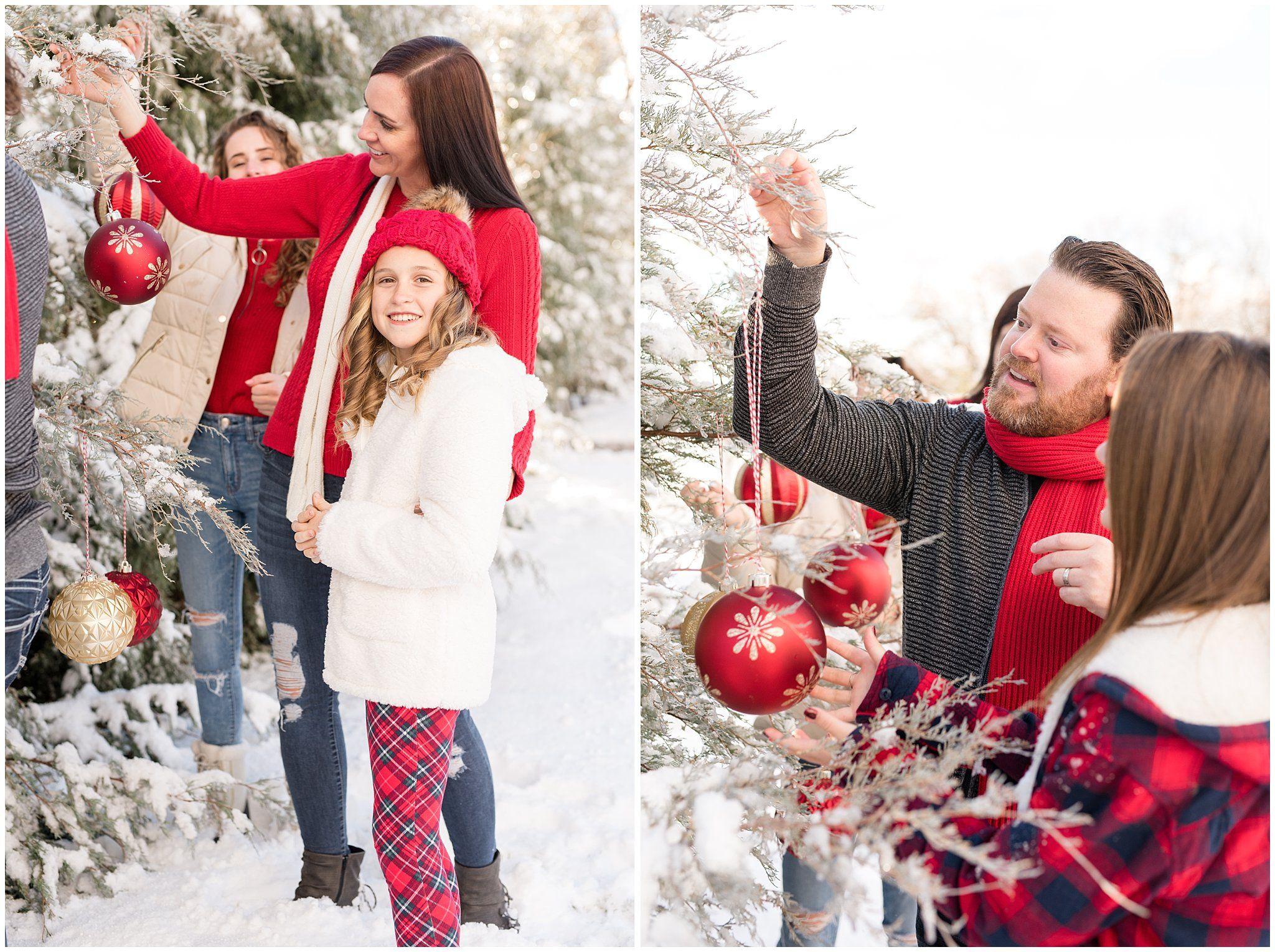 Jessie Christmas.Utah Family Christmas Photoshoot Family Session