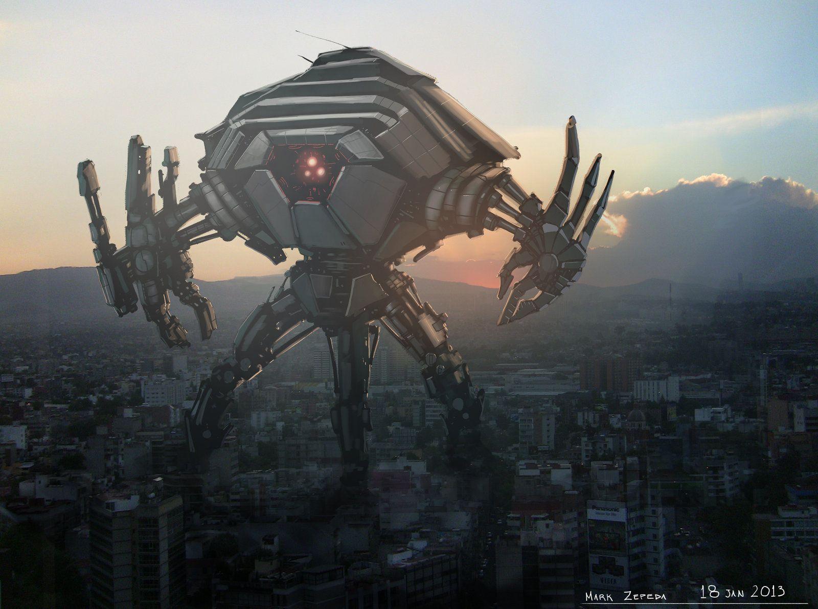 Картинки огромные роботы