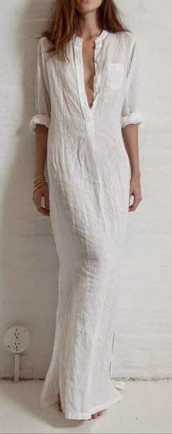 Vestidos de algodão