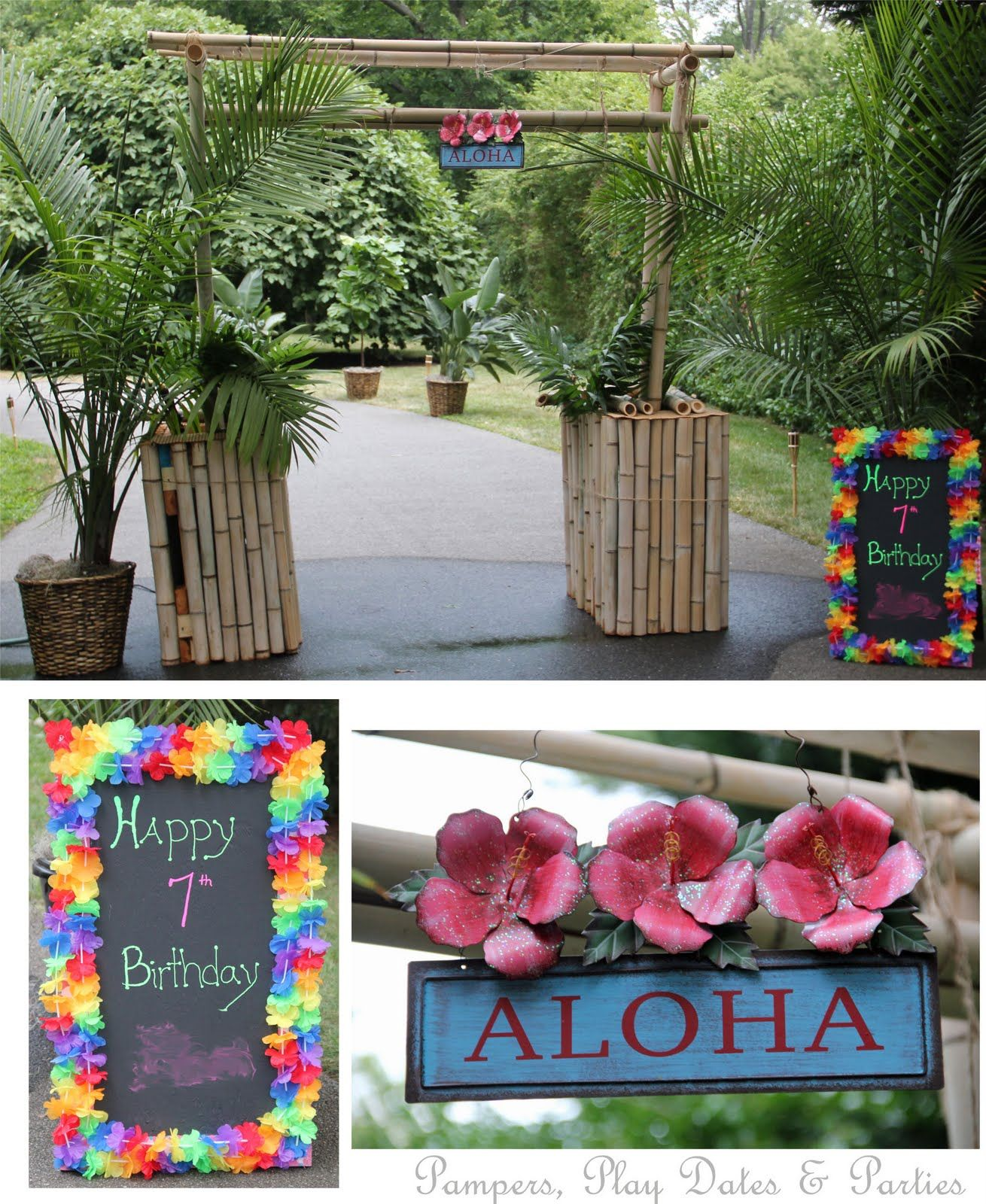 An Amazing Backyard Luau You Just Have To See (With Images
