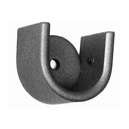 Ona Drapery Low Profile Socket Wrought Iron Curtain Rod Bracket Curtain Rod Brackets Wrought