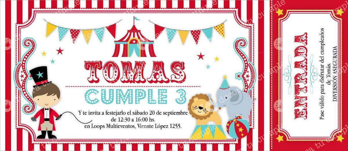 a3dea416fb656 ideas para cumpleaños de circo - Buscar con Google