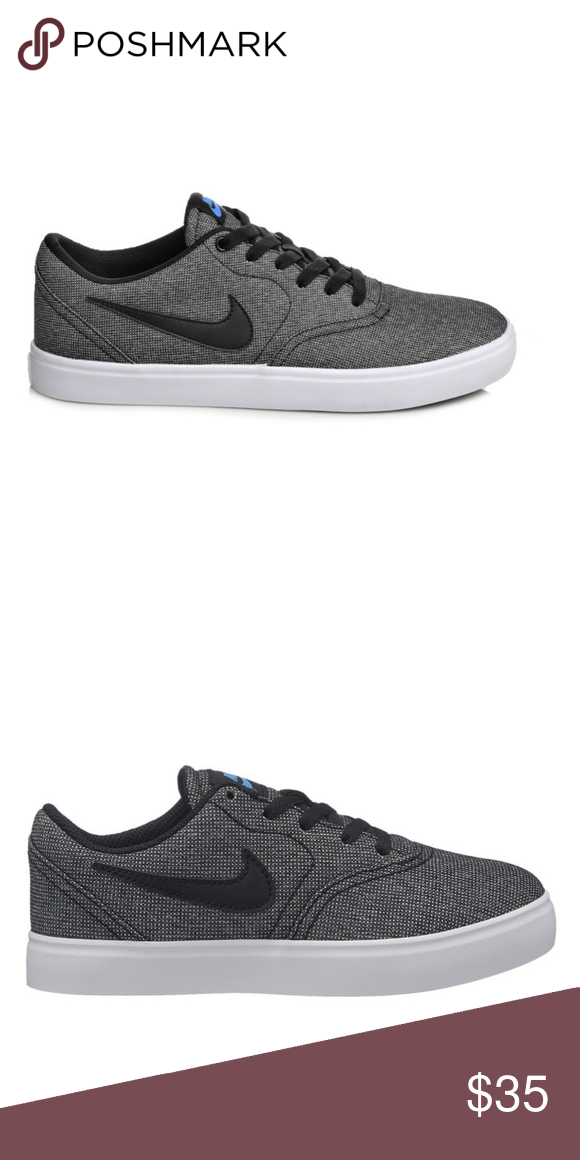 pretty nice 7ed12 bbdb4 Nike Sb Check Boys Skate Shoes Lace-up size 4Y Brand-new, in box! Cute,  stylish, & comfortable Nike skate shoes for your little dude! Nike Shoes  Sneakers