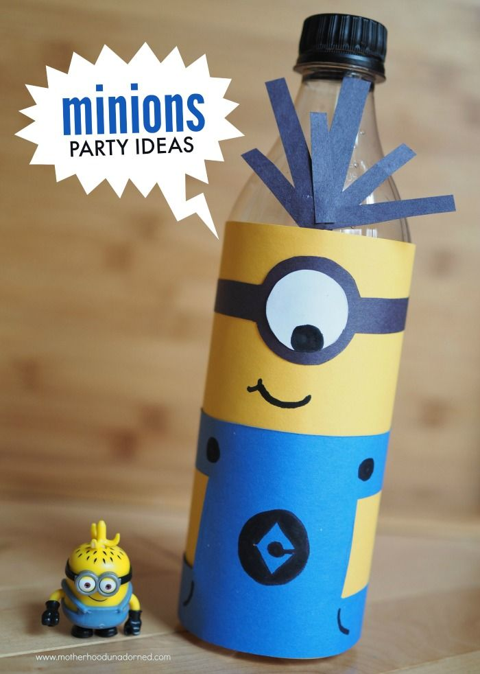 16 Minions party ideas including decor favors