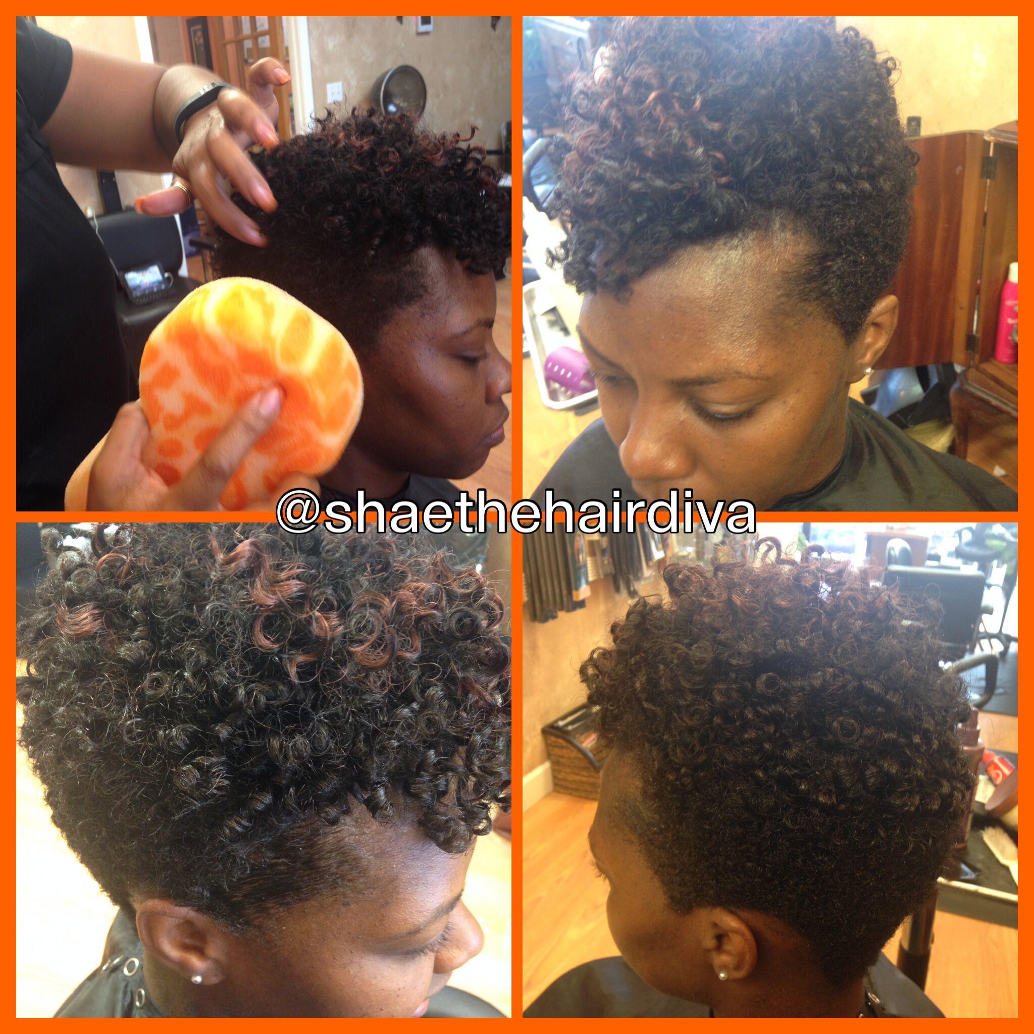 Shaethehairdiva Naturalhair Transition Faux Rodset Sponge