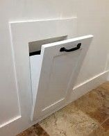 Image Result For Built In Wall Hamper Laundry Chute Laundry