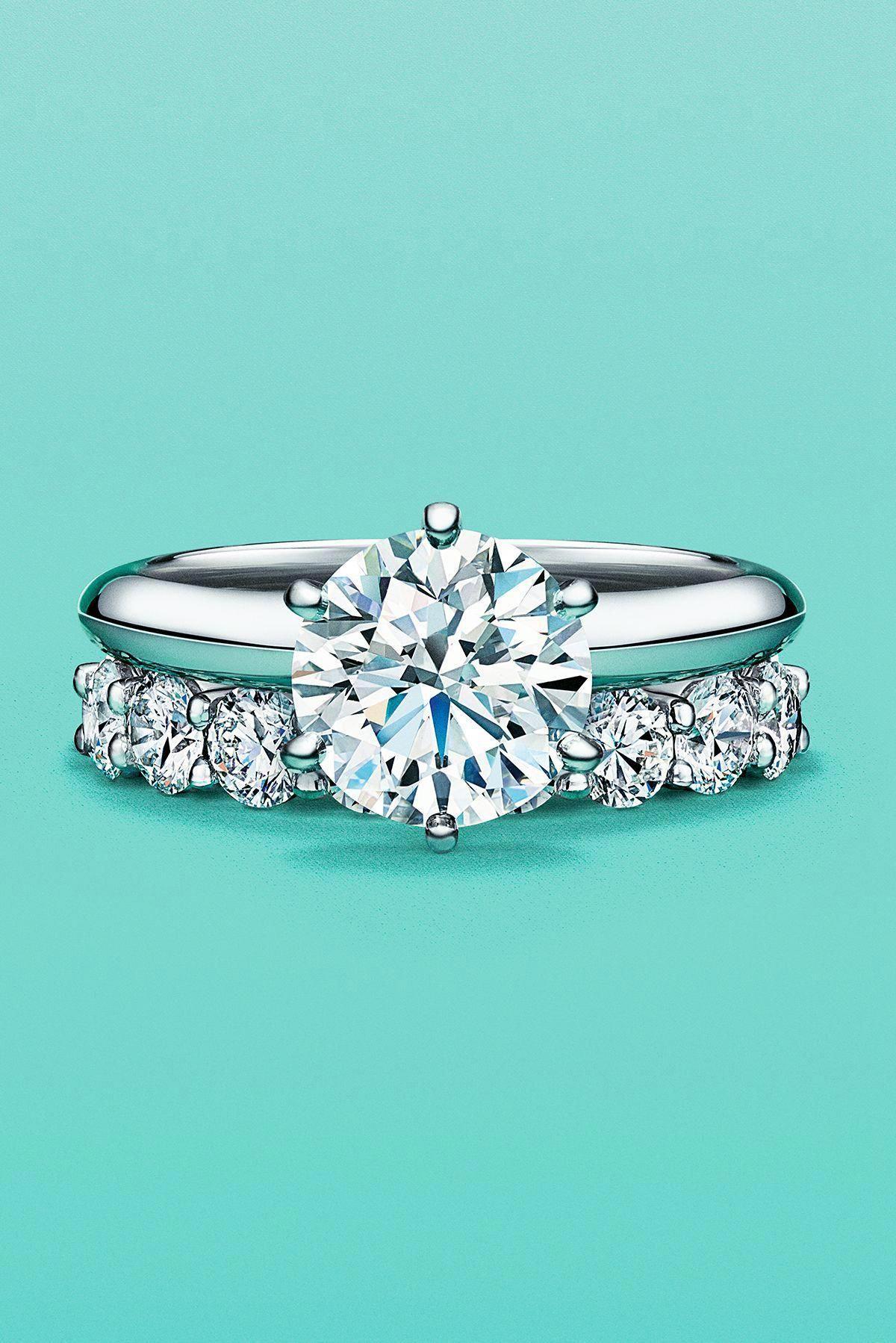 Art Nouveau Moissanite Engagement Ring 14K Rose Gold