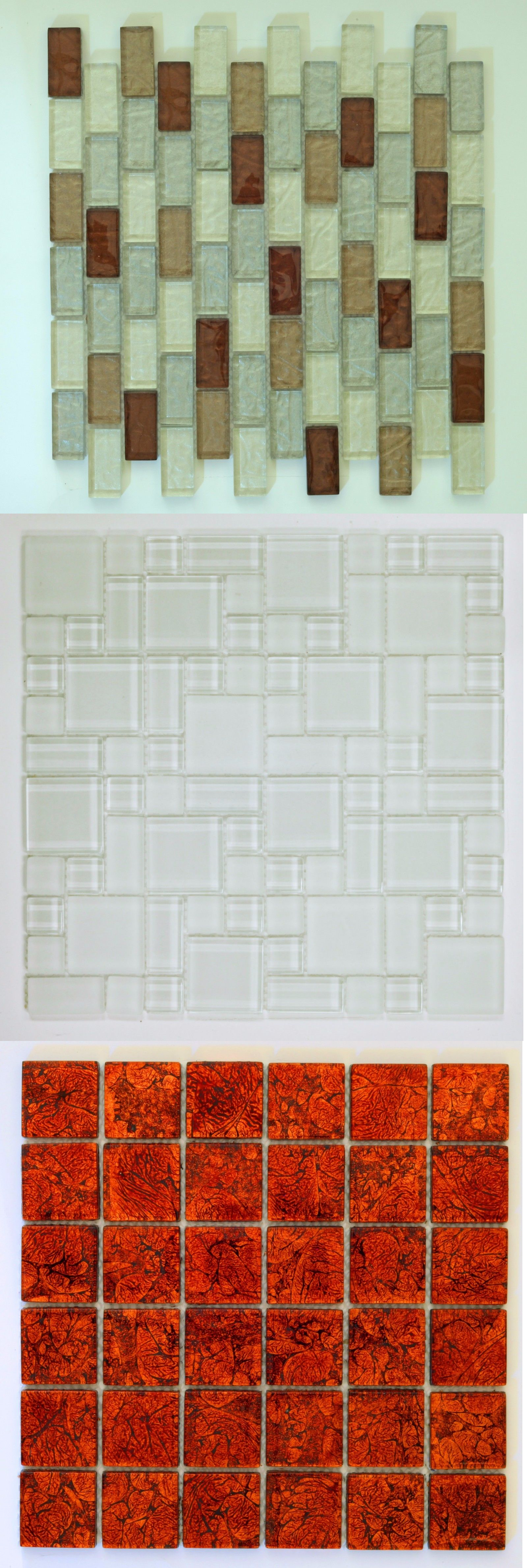 Glass and Mosaic Tiles 160646 Canaan Glass