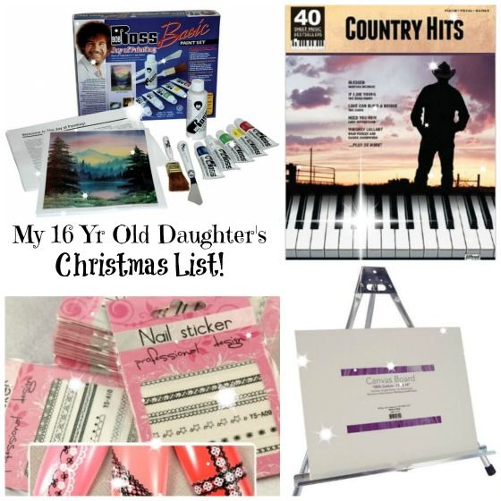 This is my 15 year old daughters christmas list christmas gifts christmas gift ideas 16 year old girl giftsforteens negle Image collections