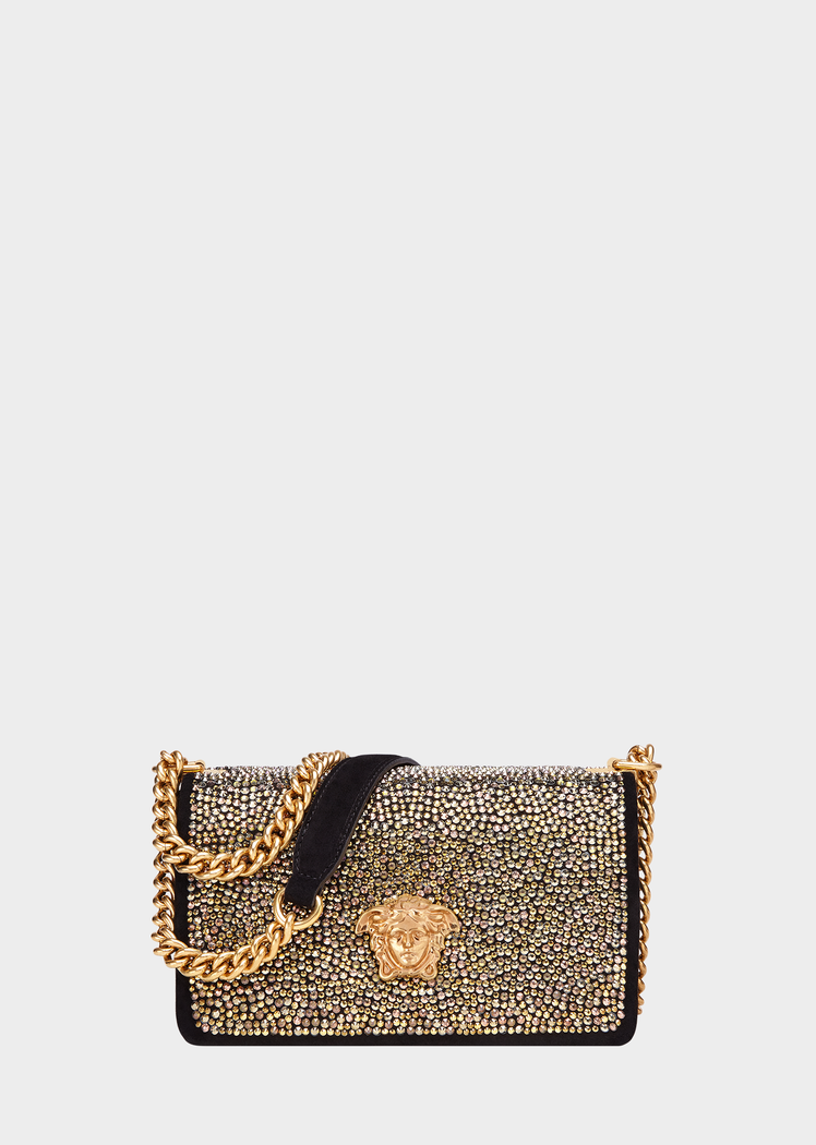 Suede Strass Palazzo Evening Bag for Women  bc446e6f1f688