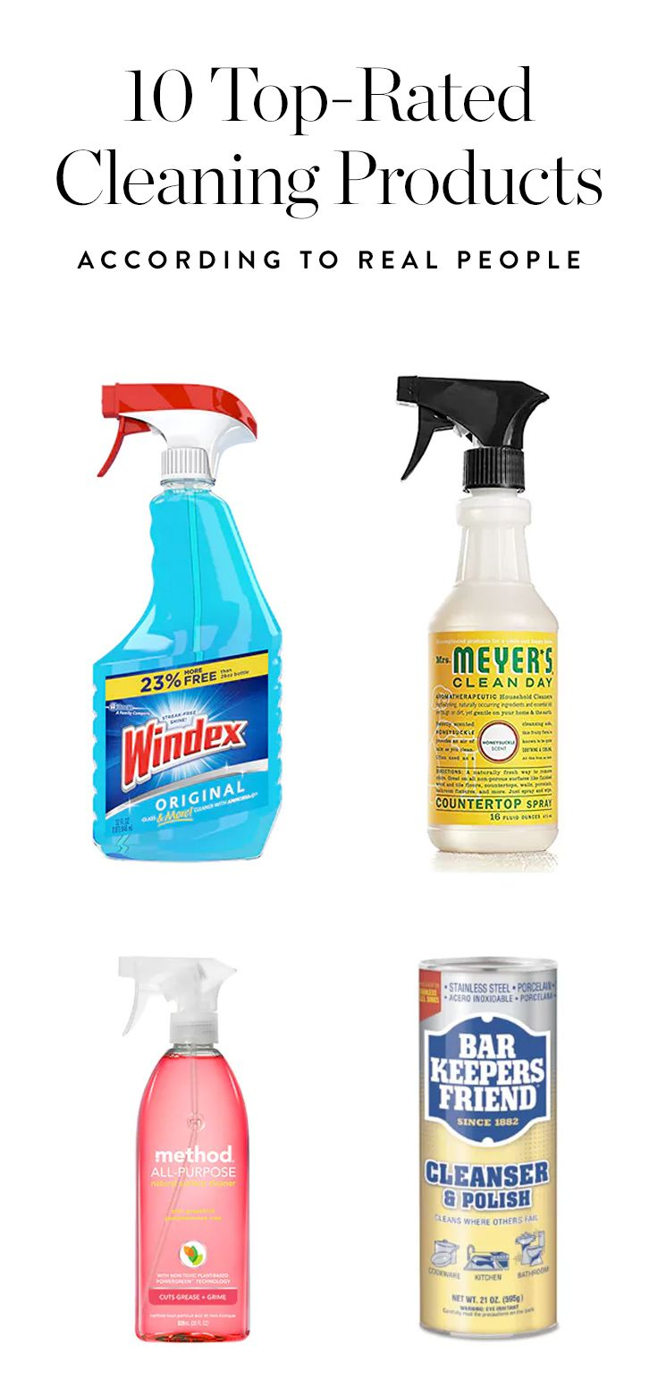 10 Top Rated Cleaning Products According To Real People With