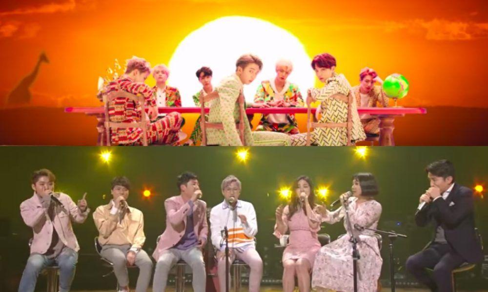Sweet Sorrow Y The Barberettes Muestra Una Versi N De Idol De Bts Korean Idol Idol Bangtan
