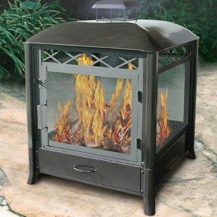 aspen steel wood burning pagoda stuff to buy outdoor garden rh pinterest co uk