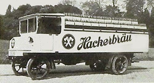 hansa lloyd electric truck c 1920s v is for volts wagons rh pinterest com