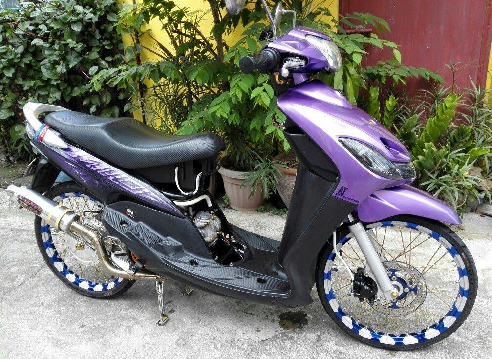 yamaha mio sporty purple thai   open  mooty