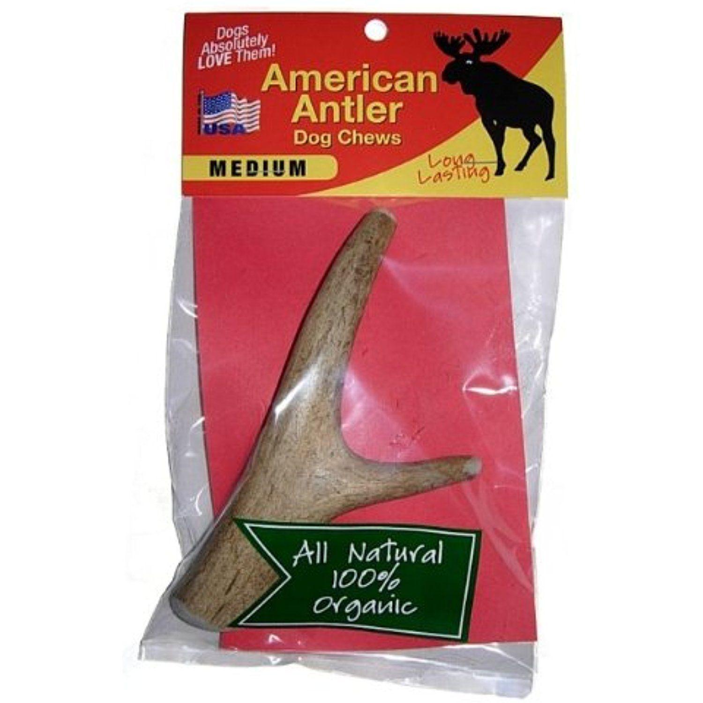 American Antler Dog Chews Naturally Shed Elk Moose Deer