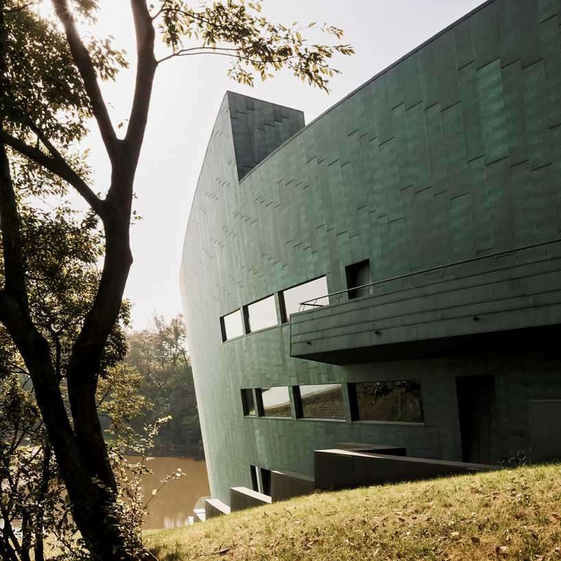 Sanaksenaho architects cipea villa nanjing china designboom