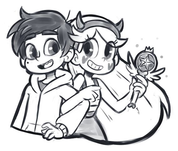 Star Vs The Forces Of Evil Star And Marco Desenhos Minecraft