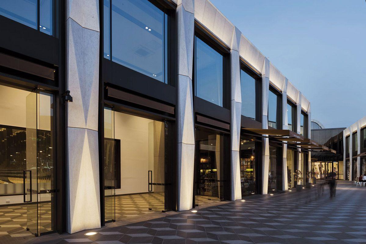 WE-EF Project: Inground Luminaires at Eastland Shopping ...