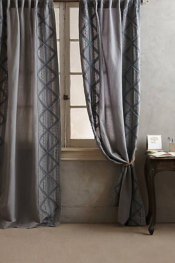 appliqued lace curtain design bedroom bedrooms and master bedroom rh pinterest com