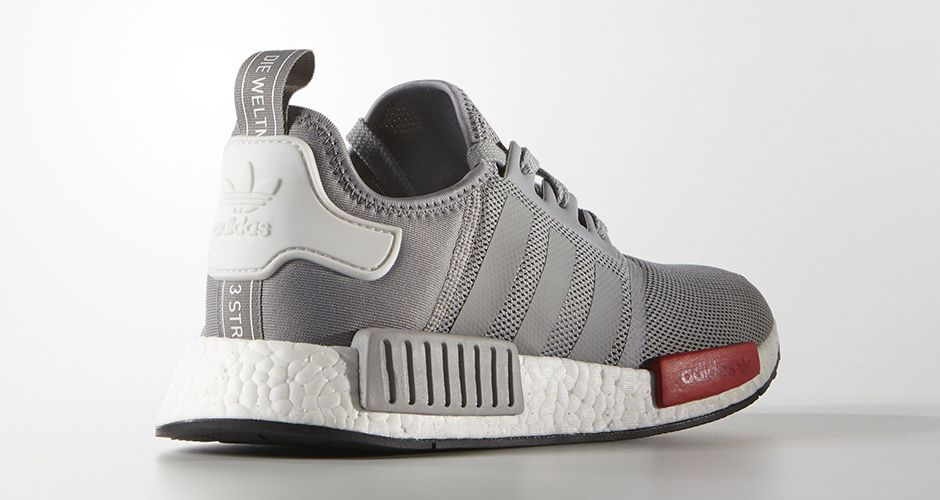 adidas nmd r1 mens grey and white