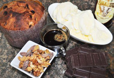 Uma pitanga na cozinha: Pavê de Panetone com café
