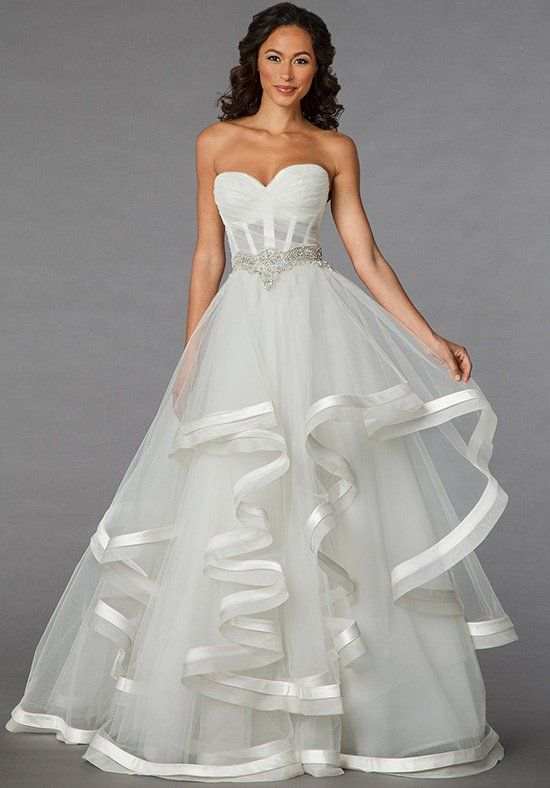 2a80e3f95a5f Pnina Tornai for Kleinfeld 4310 Wedding Dress - The Knot | Future in ...