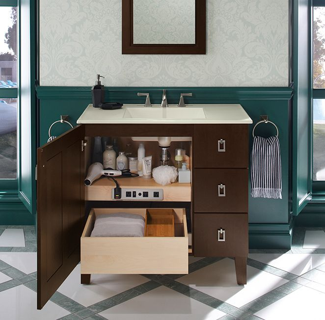 Simply Organize Your Life Custom Bathroom Vanity Bathroom