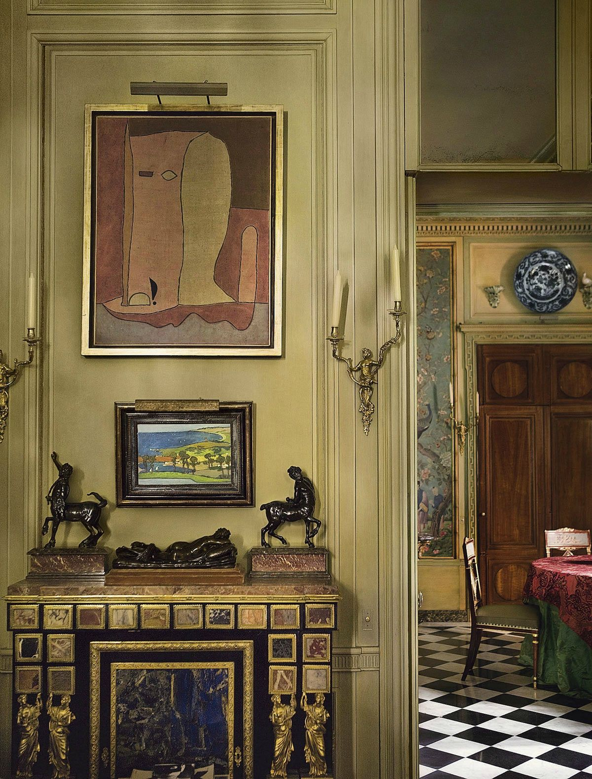 fran ois joseph graf un appartement paris interiors. Black Bedroom Furniture Sets. Home Design Ideas