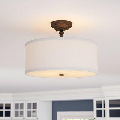 thorpe 3 light semi flush mount kitchens wares lighting rh pinterest com