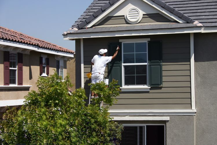 10 Inspiring Exterior House Paint Color Ideas Brick Exterior House Exterior Paint Colors For House House Paint Exterior