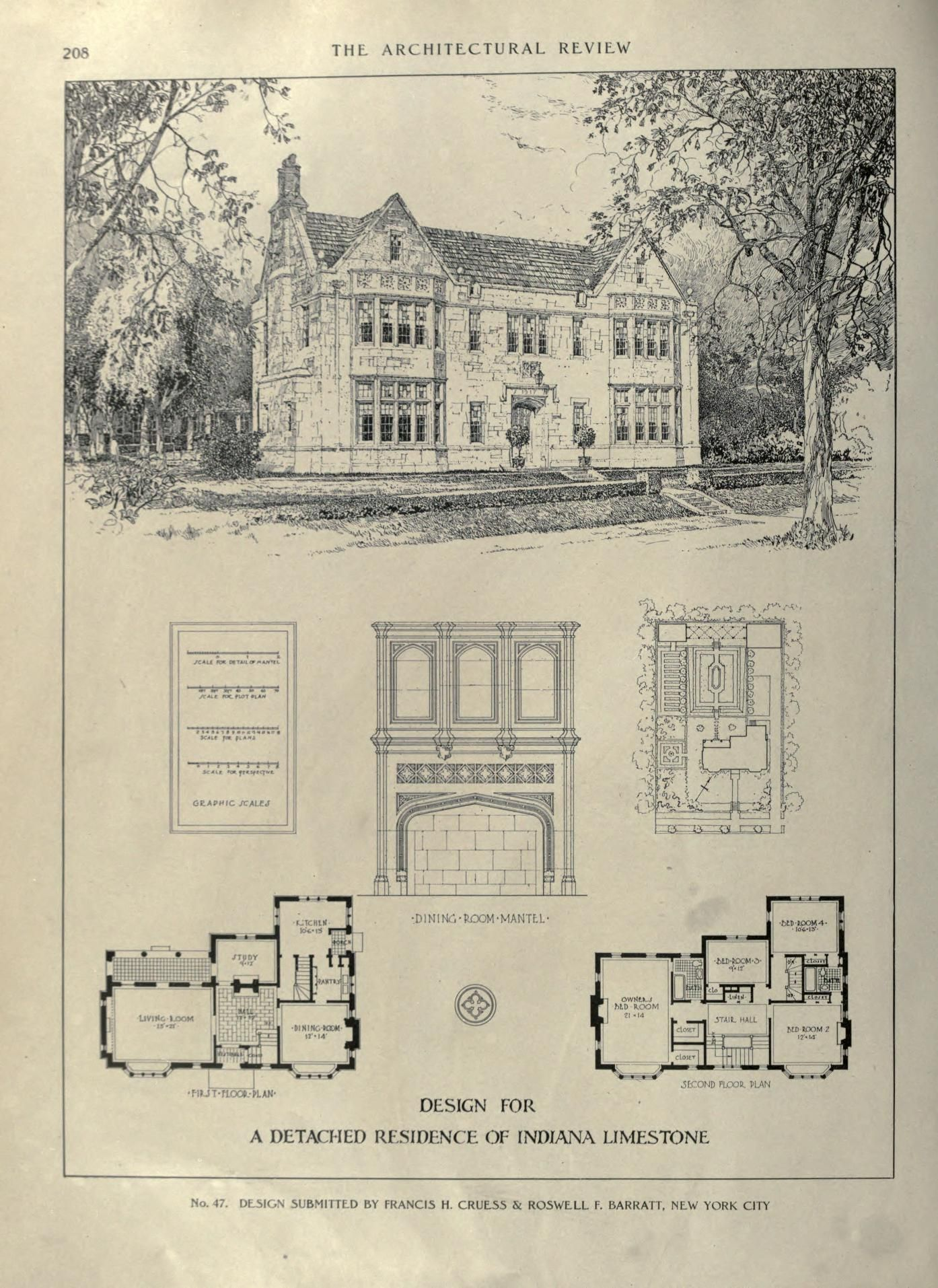 Architectural Review Free Download Borrow And Streaming Vintage House Plans Edwardian Architecture Architecture
