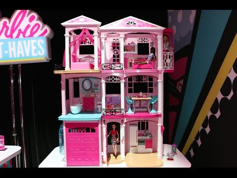 barbie dreamhouse 2015 full house tour by baby gizmo youtube rh pinterest cl