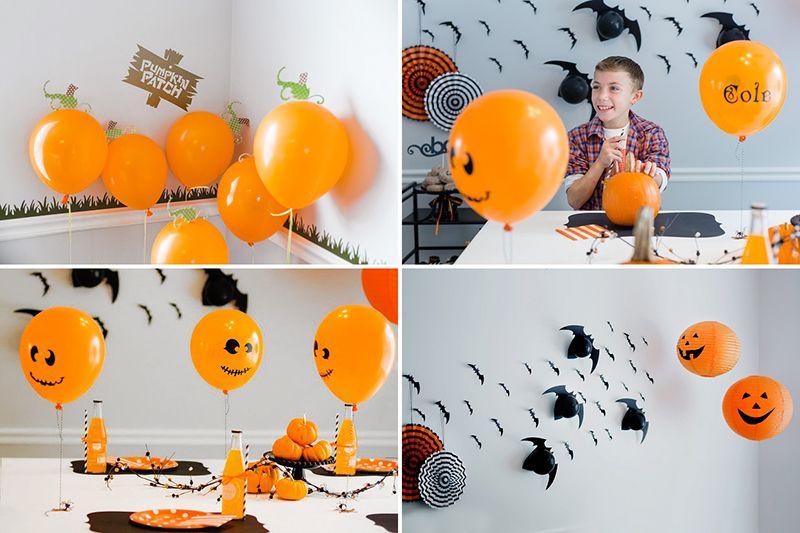 8 ideas diy para decorar halloween con globos fiestas y - Bombas para decorar ...