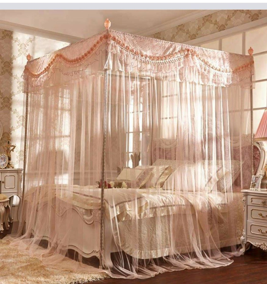 Pin By Vonnie Maddox On Fashion Bedrooms Canopy Bedroom Sets