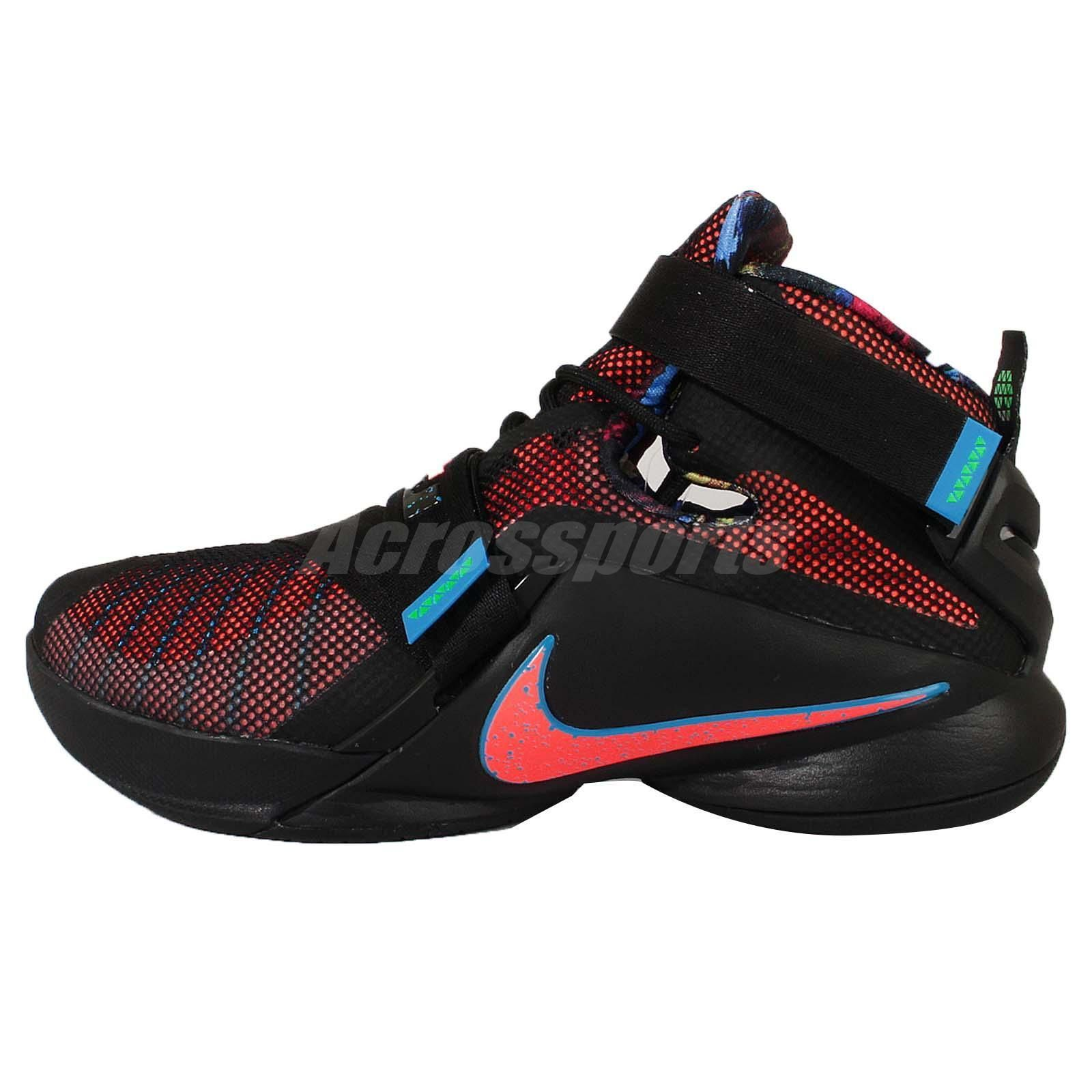fadc1f47fd3 Nike Lebron Soldier IX 9 PRM EP King Lebron James Mens Basketball Shoes  Pick 1…
