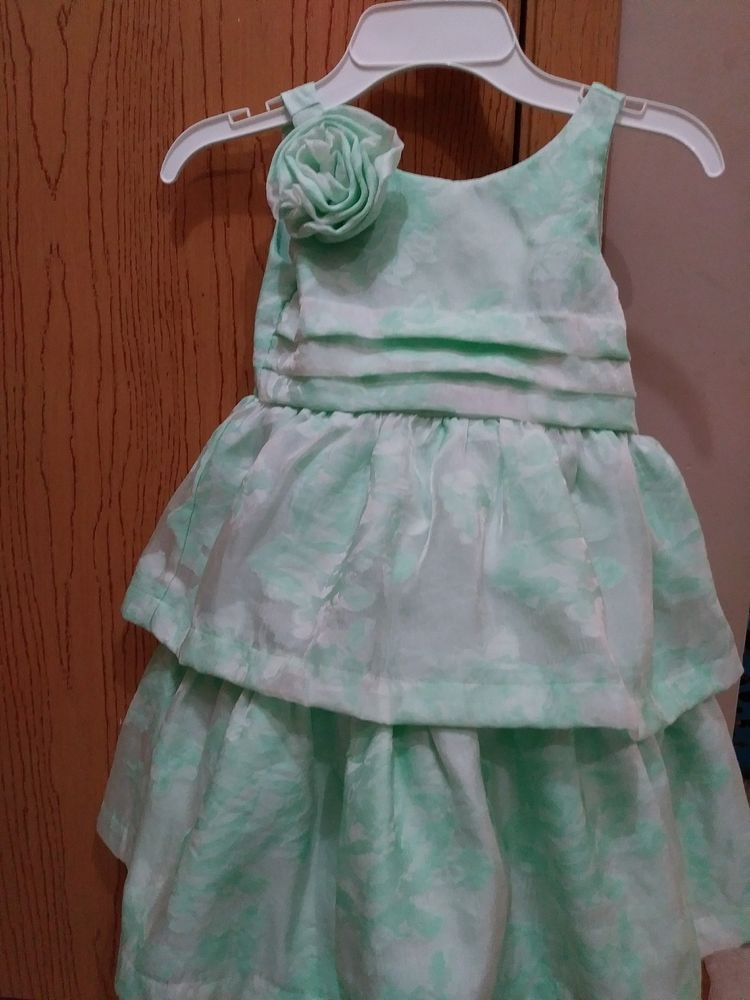 1f17bc631fc4 Janie & Jack Special Occasion Mint Green Floral Dress sz 3 #JanieandJack # Dress #ChristmasDressyHolidayPageantPartyWedding