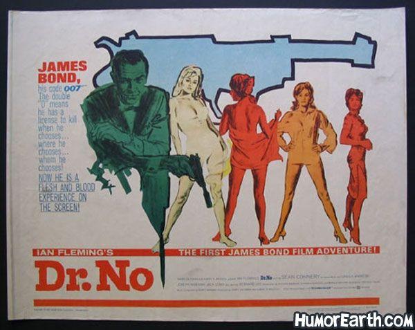 HumorEarth.com - James Bond Movie Posters