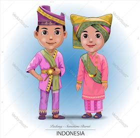 Jatmika Pakaian Adat Tradisional Di Indonesia Kartun Seni Tradisional Ilustrator